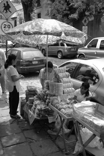 Vendor in the Zocalo market