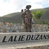 Belvidere Roundabout: Lalie (Florian Eulalie) Duzanson was known for for taking care of those in need, especially after disasters