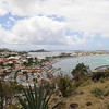The view from Fort Louis, which guards Marigot Bay