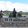 Belvidere Roundabout:  Ta Ta (Jean Frederique Brooks) was remembered for keeping things in order on his bus and transporting many of the current gov't officials to school when they were young