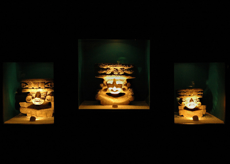 Artifacts in the Teotihuacan Museum