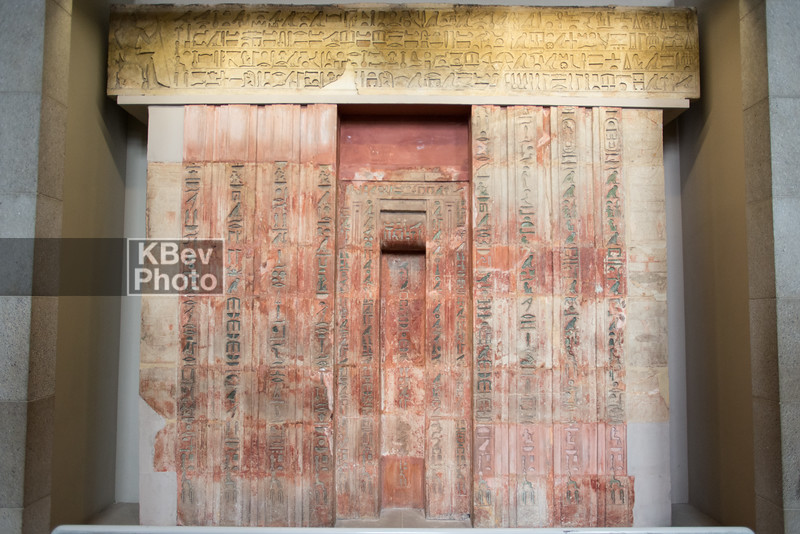False door and architrave of Ptahshepses