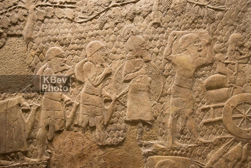 The Royal Lion Hunt (645-635BC) - Assyrian