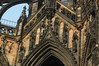 Close-up of The Scott Monument