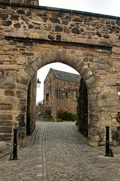 Foog's Gate at the Edinburgh Castle.