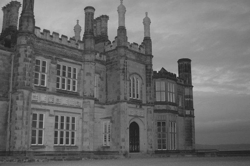 Delmany House (Black and White)