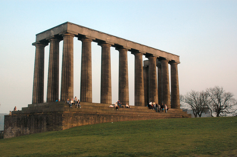 The National Monument on Carlton Hill