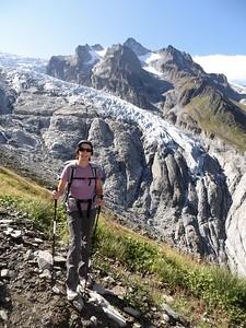 View on Glacier du Trient