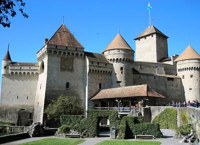 Chateau de Chillon http://en.wikipedia.org/wiki/Ch%C3%A2teau_de_Chillon