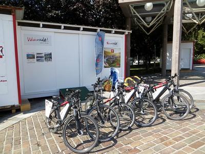 Free bikes to ride