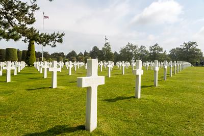 Normandy American Cemetery & Memorial-8549