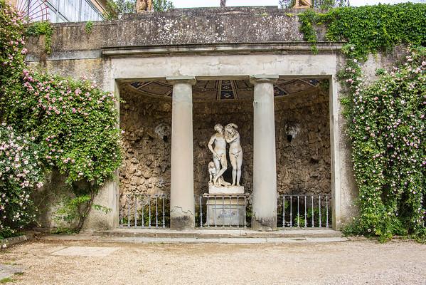Florence - Day 2-Boboli Gardens & Ponte Vecchio Bridge