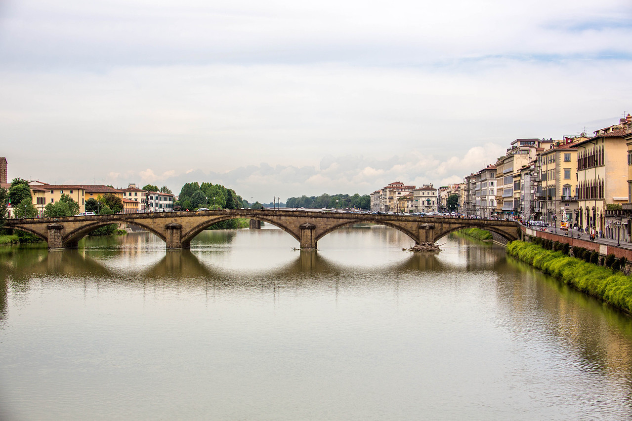 Florence - River Arno Bridges-2394