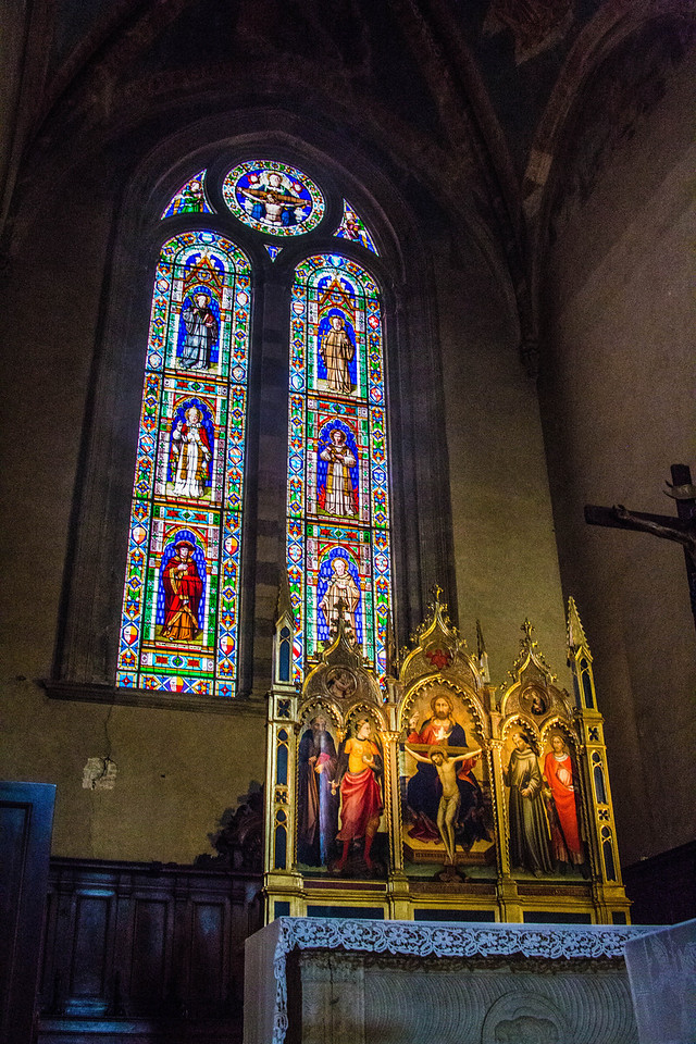 Florence - Chiesa di Santa Trinita-2363