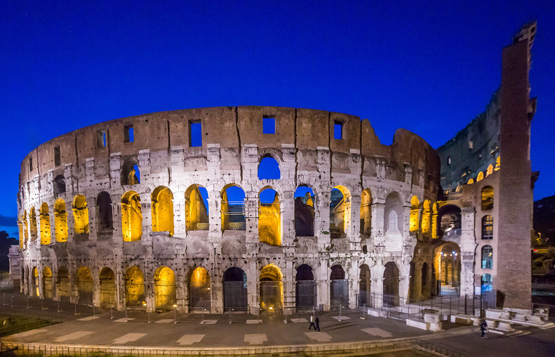 Rome - Colosseum Night-3447
