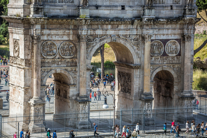 Rome - Arch of Constantine-3625
