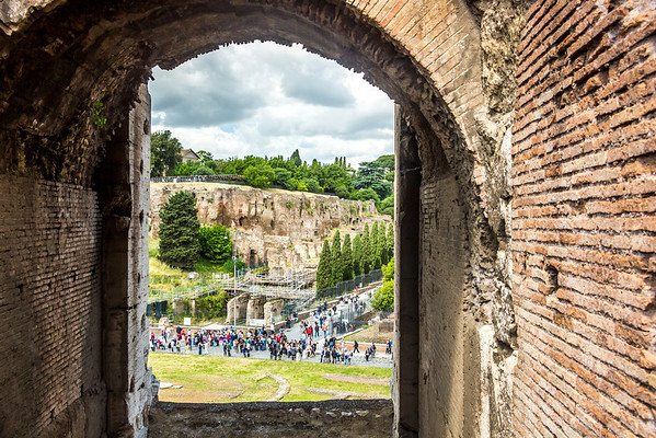 Rome - Day 3 - Palatine Hill, The Forum