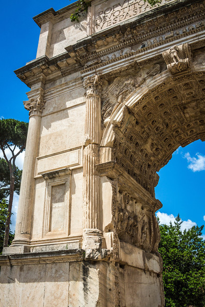 Rome - Arch of Titus-3686