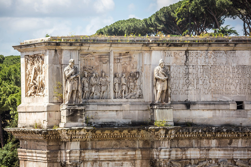 Rome - Arch of Constantine-3623
