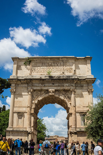 Rome - Arch of Titus-3685