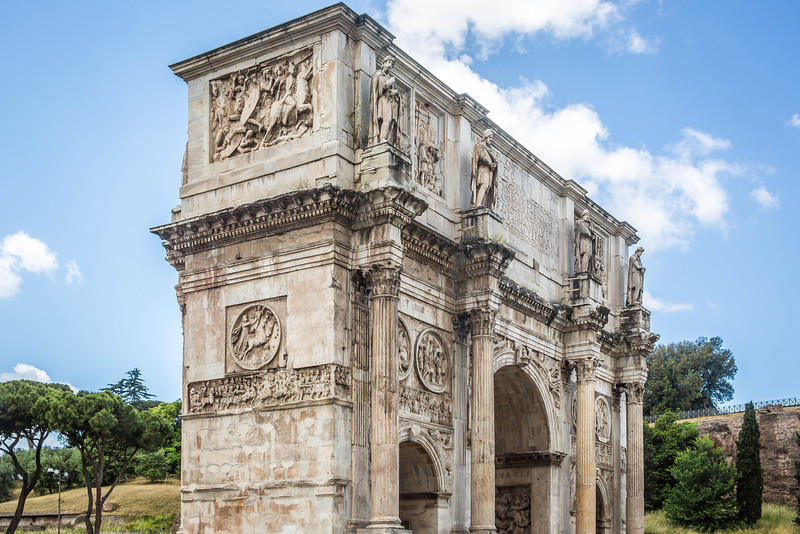 Rome - Arch of Constantine-3655