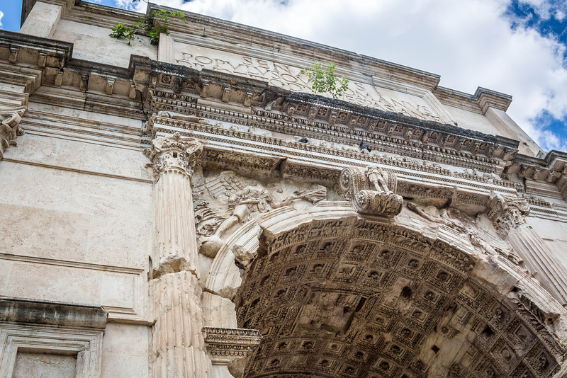 Rome - Arch of Titus-3682