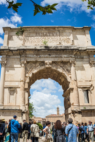 Rome - Arch of Titus-3684