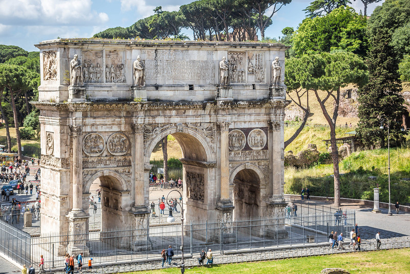Rome - Arch of Constantine-3619