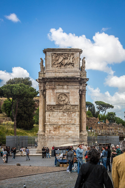 Rome - Arch of Constantine-3653