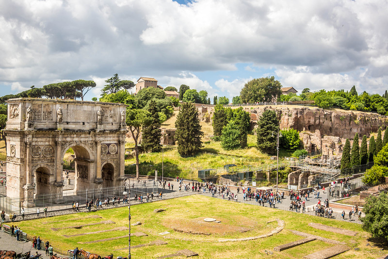 Rome - Arch of Constantine-3617