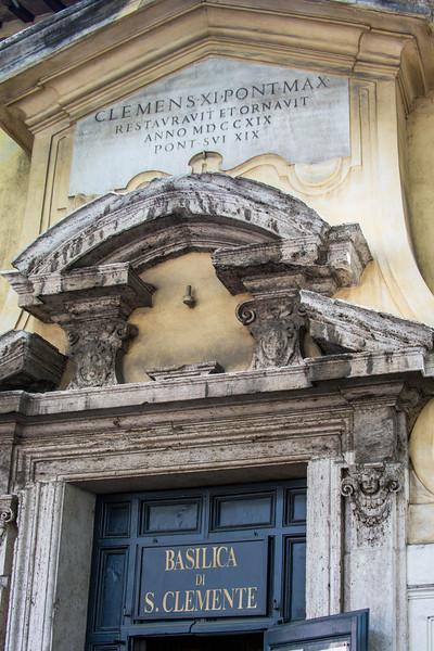 Rome - St Clemente-3542