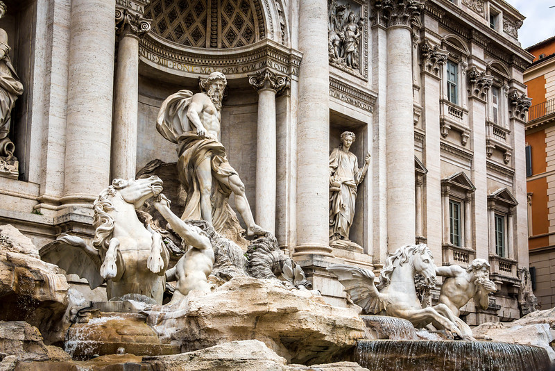 Rome-Trevi Fountain-3910
