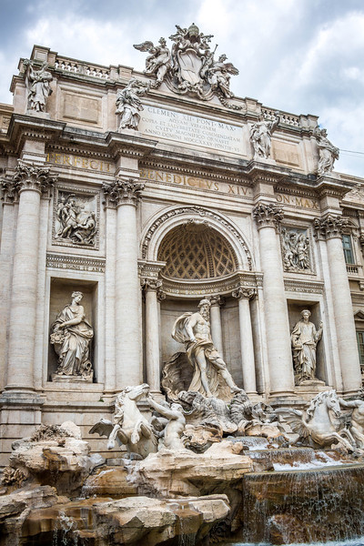 Rome-Trevi Fountain-3903