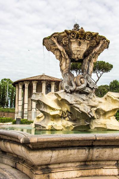Rome - Day 6 - Piazza Santa Maria, Rose Garden