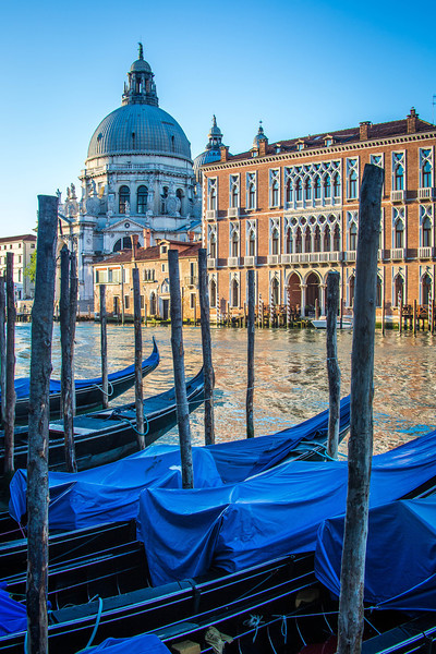 Venice-Day 3-Gondolas at Dawn-1764