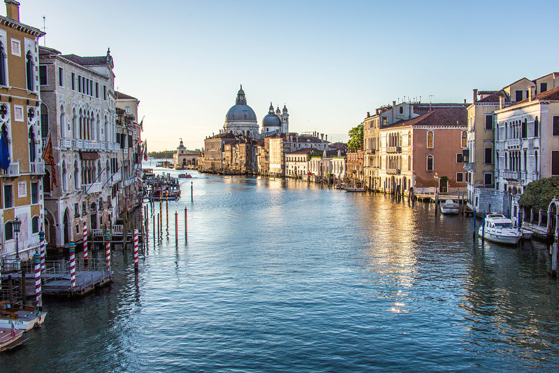 Venice-Day 3-Grand Canal at Dawn-1780