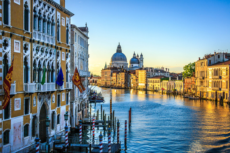 Venice-Day 3-Grand Canal at Dawn-1772
