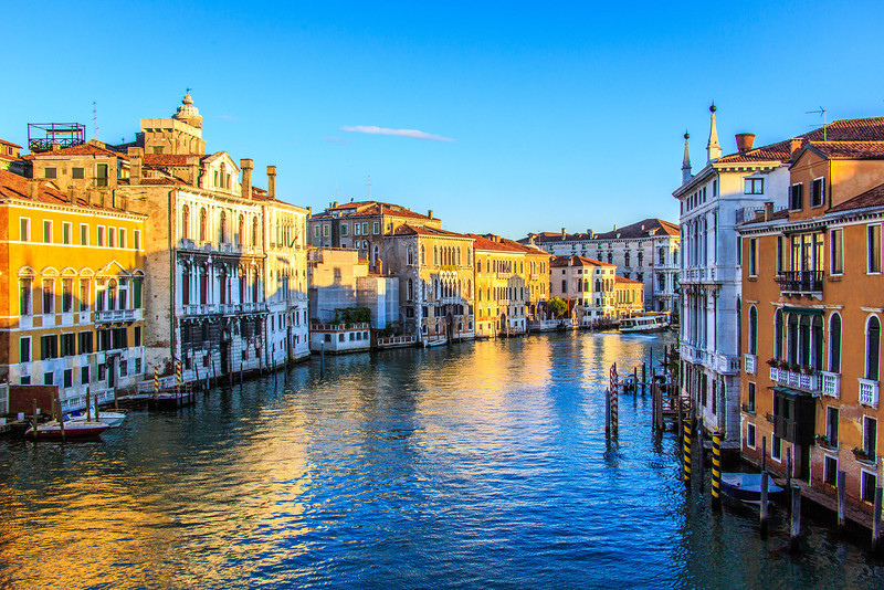 Venice-Day 3-Grand Canal at Dawn-1776
