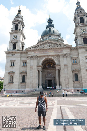 I KWOC at St. Stephen's Basilica in Budapest