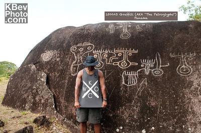 "I KWOC for the ages... 2011 KWOC meets 1500AD Graffiti (AKA ""The Petroglyphs"")"