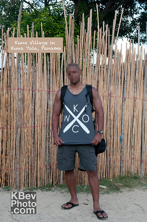 I KWOC in the Kuna Village in Panama