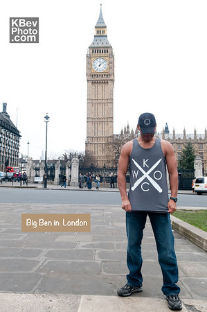 I KWOC with Big Ben in London