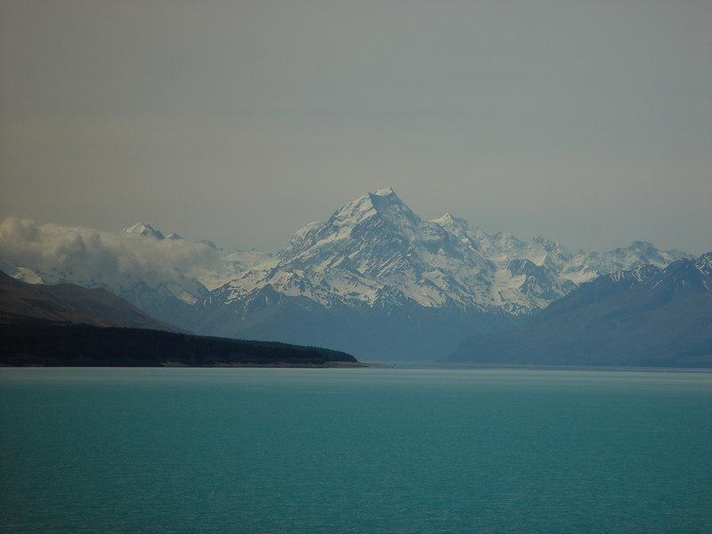 Mount Cook from Lake Pukaki