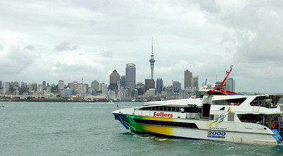 Ferry to Rangitoto Island