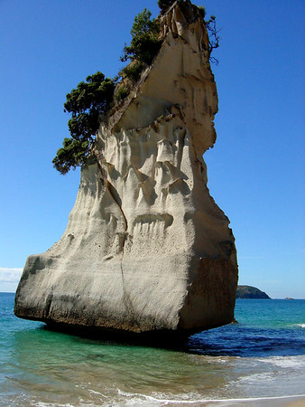 Beautiful rock (Coromandel Peninsula)