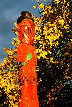 Maori statue (Rotorua)