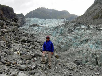 Great hike along Fox Glacier