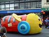 Buzzy bee, Santa Parade Dunedin