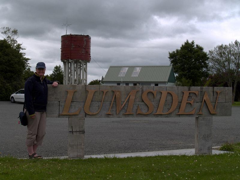 A Lumsden in Lumsden!