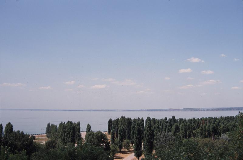 View of Asov Sea in Taganrog. RUS2001-3